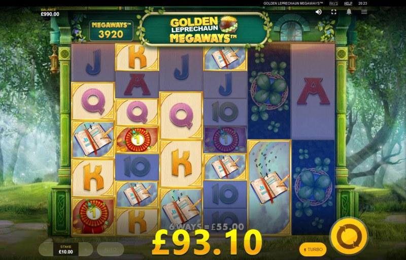 Golden Leprechaun Megaways :: Multiple winning combinations