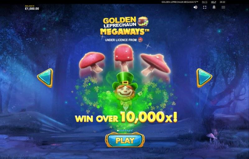 Golden Leprechaun Megaways :: Win Over 10,000x