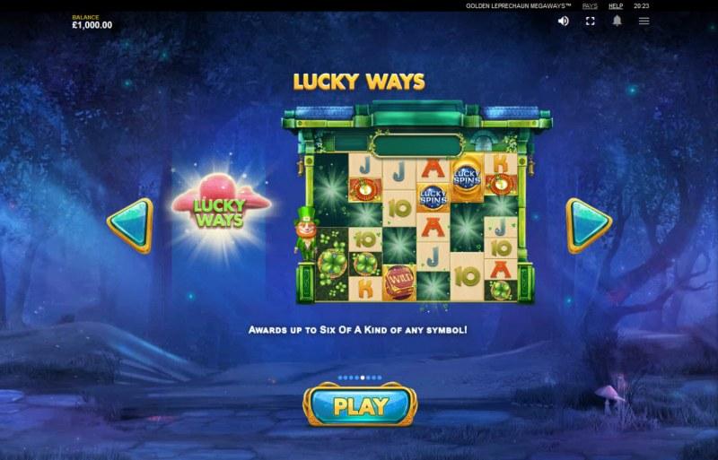 Golden Leprechaun Megaways :: Lucky Ways