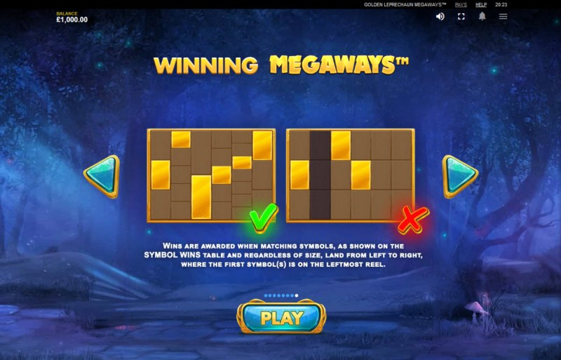 Golden Leprechaun Megaways :: Winning Megaways