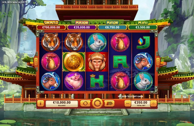 Golden Macaque :: Main Game Board
