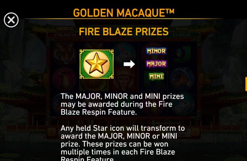 Golden Macaque :: Fire Blaze