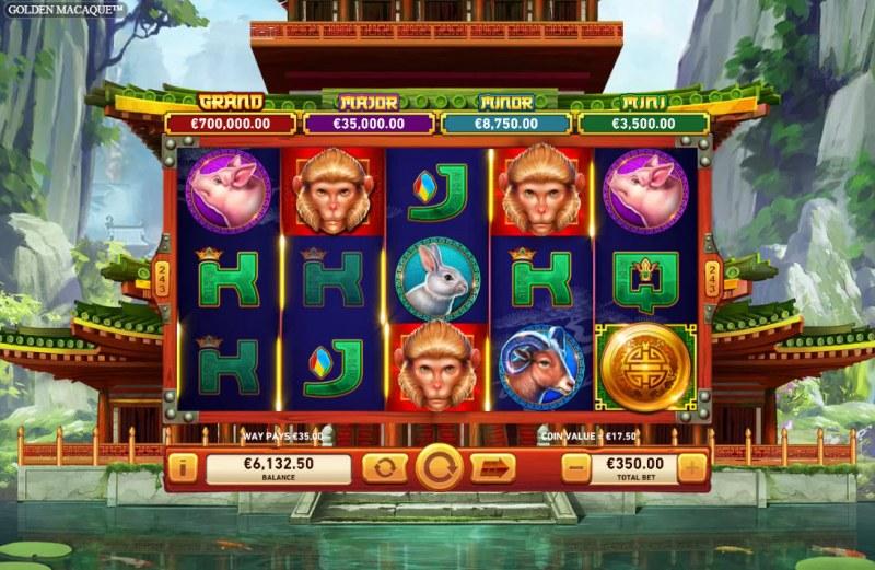 Golden Macaque :: Multiple winning combinations
