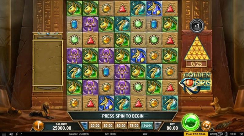 Golden Osiris :: Main Game Board