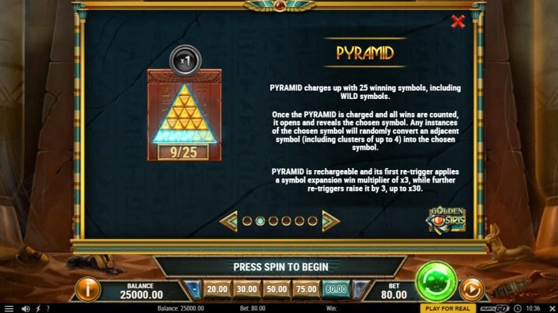 Golden Osiris :: Feature Rules