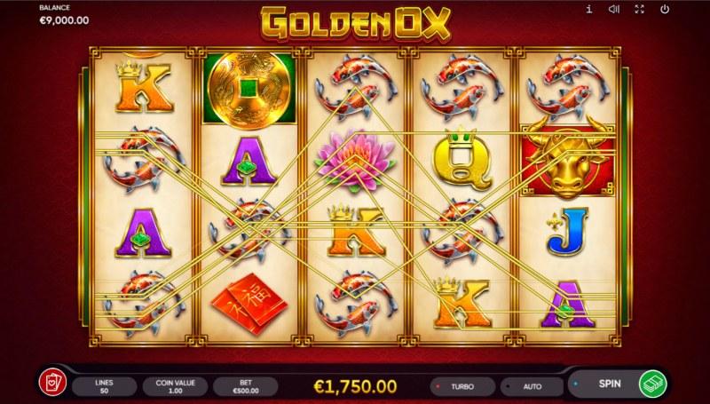 Golden Ox :: Multiple winning paylines