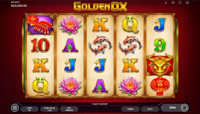 Golden Ox :: Base Game Screen
