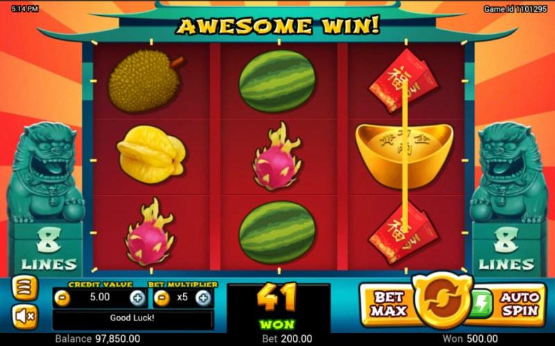 Golden Pig :: Combination Win