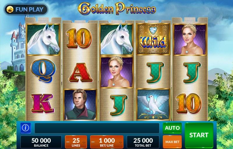 Golden Princess :: Main Game Board