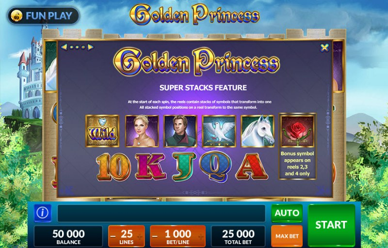 Golden Princess :: Stacked Feature