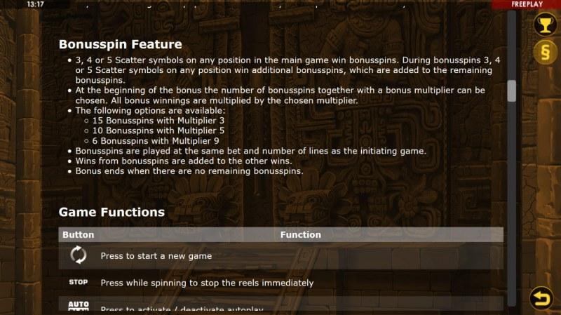Golden Quest :: Feature Rules