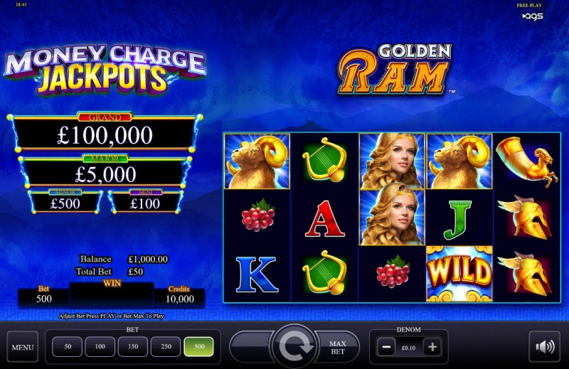 Golden Ram :: Main Game Board