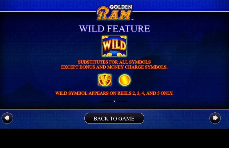 Golden Ram :: Wild Symbol Rules