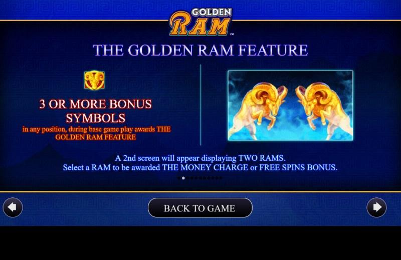 Golden Ram :: Feature Rules