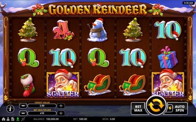Golden Reindeer :: Base Game Screen