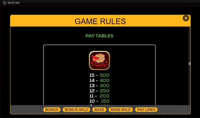 Golden Sheep :: Paytable - High Value Symbols