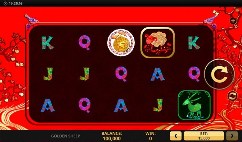 Golden Sheep :: Base Game Screen