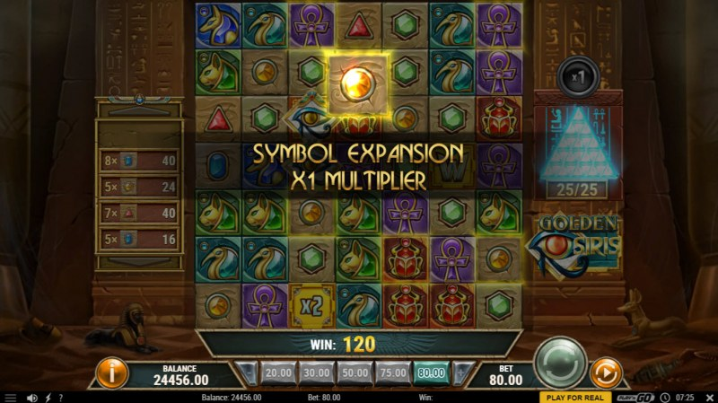 Golden Siris :: Symbol Expansion Activated