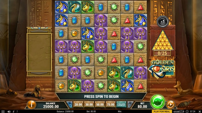 Golden Siris :: Main Game Board