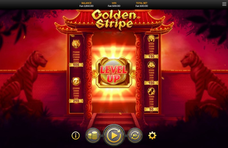 Golden Stripe :: Level-Up achieved