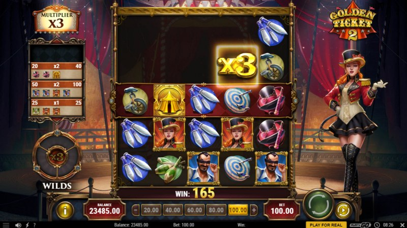 Golden Ticket 2 :: X3 Win Multiplier
