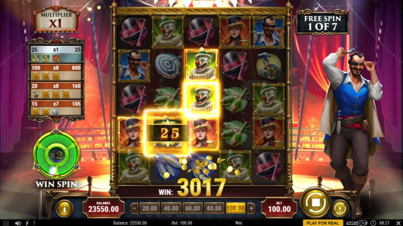 Golden Ticket 2 :: Free Spins Game Board
