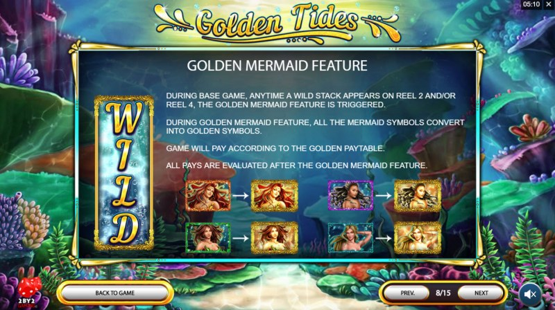 Golden Tides :: Golden Mermaids Feature