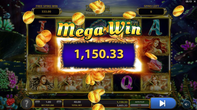 Golden Tides :: Mega Win