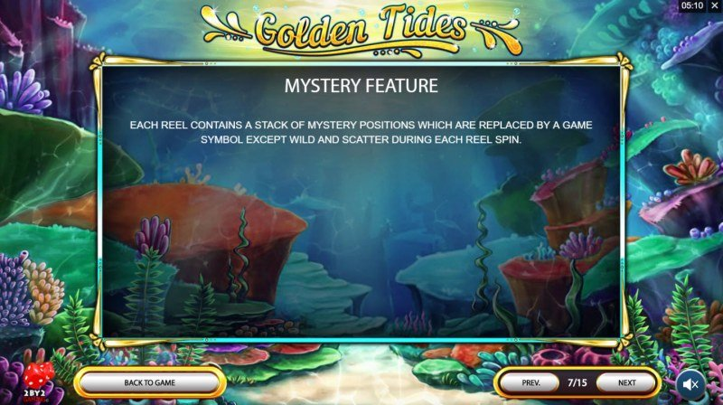 Golden Tides :: Mystery Feature