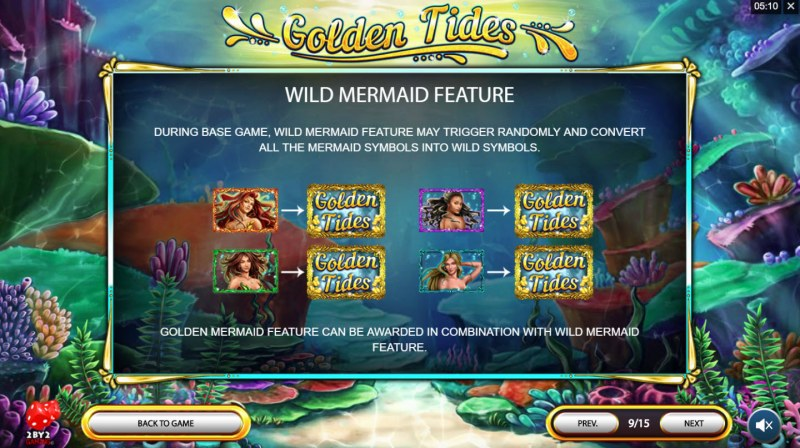 Golden Tides :: Wild Mermaid Feature