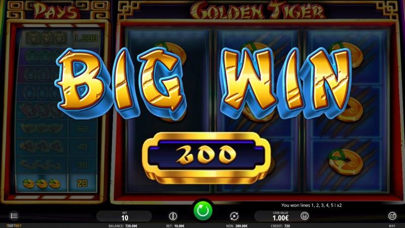 Golden Tiger :: Big Win