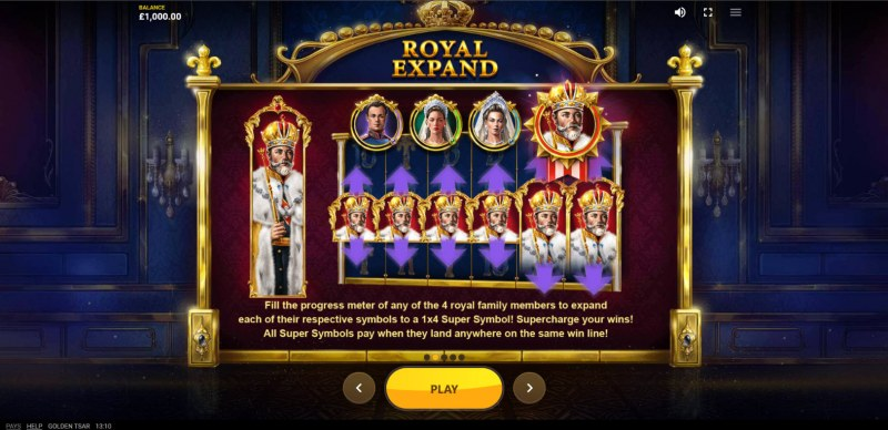 Golden Tsar :: Feature Rules