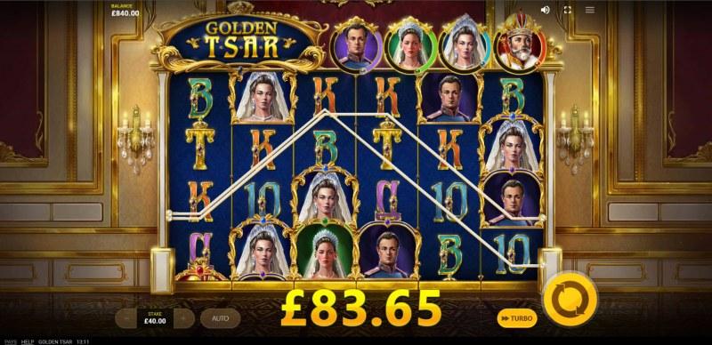 Golden Tsar :: Multiple winning combinations