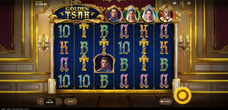 Golden Tsar :: Main Game Board