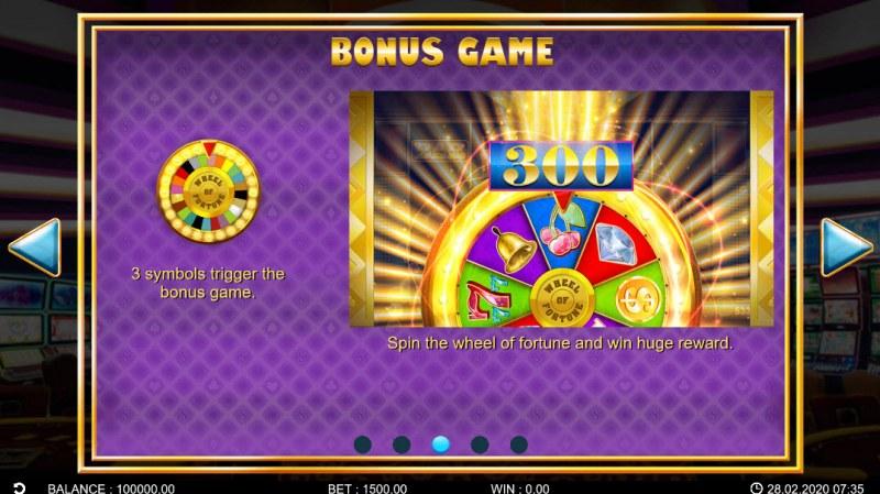 Golden Vegas :: Bonus Game Rules