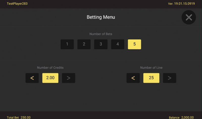 Golden Whale :: Available Betting Options