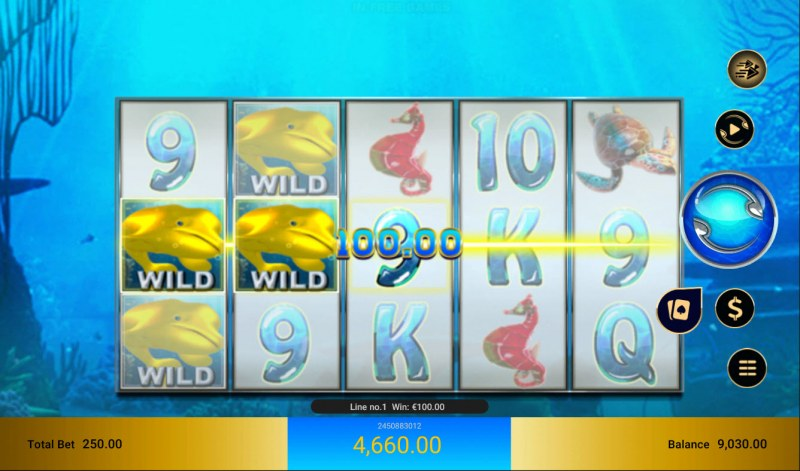 Golden Whale :: Multiple winning paylines