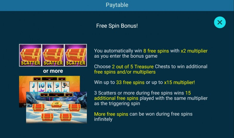 Golden Whale :: Free Spins Rules
