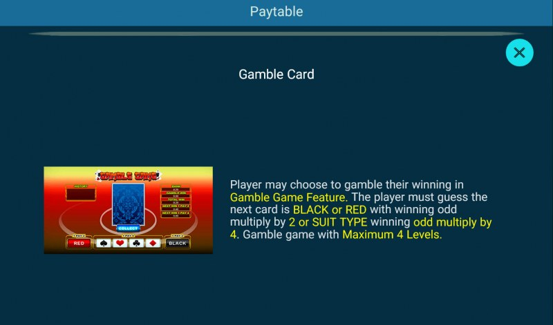 Golden Whale :: Gamble Feature Rules