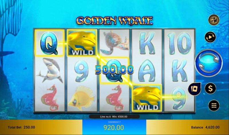 Golden Whale :: Four of a kind