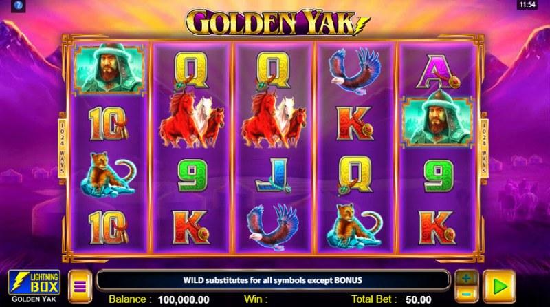Golden Yak :: Main Game Board