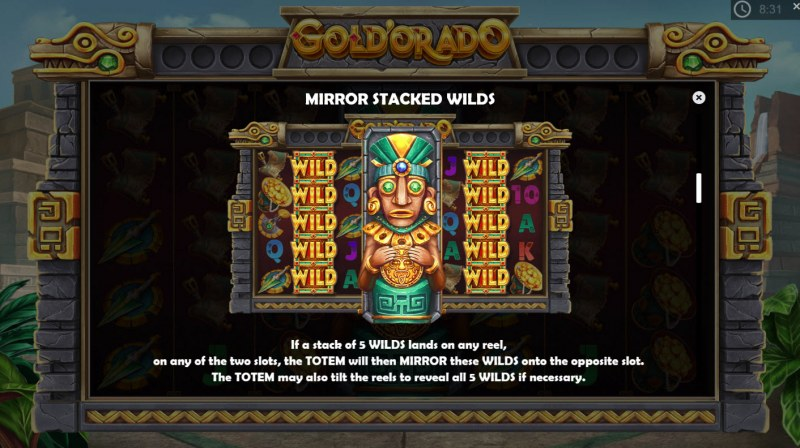 Gold'orado :: Mirror Stacked Wilds