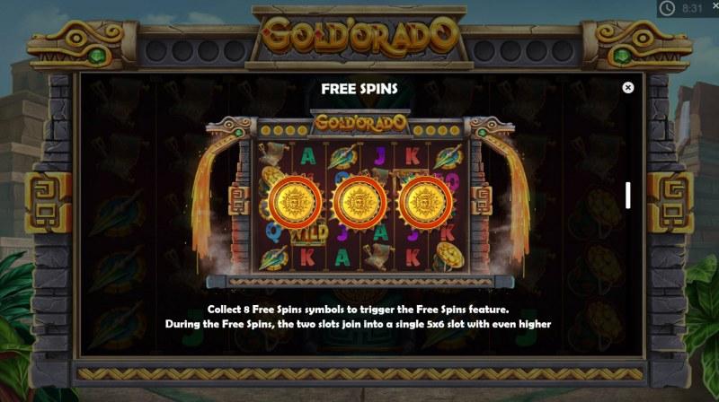 Gold'orado :: Free Spins Rules
