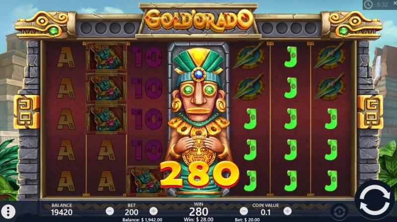 Gold'orado :: Multiple winning paylines
