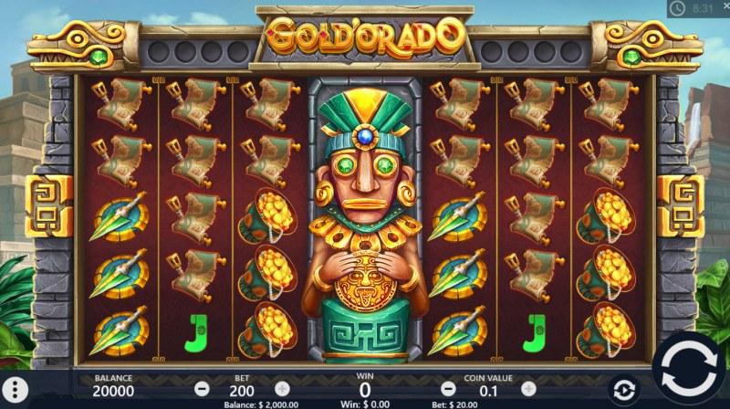 Gold'orado :: Main Game Board