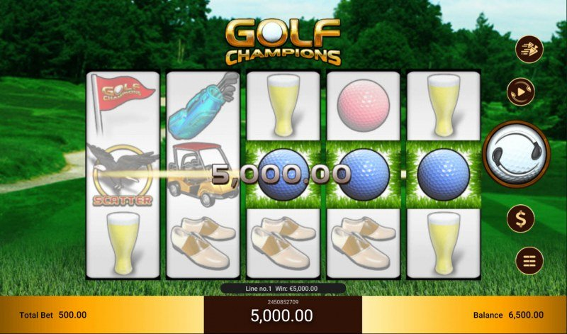 Golf Champions :: Game pays in both directions
