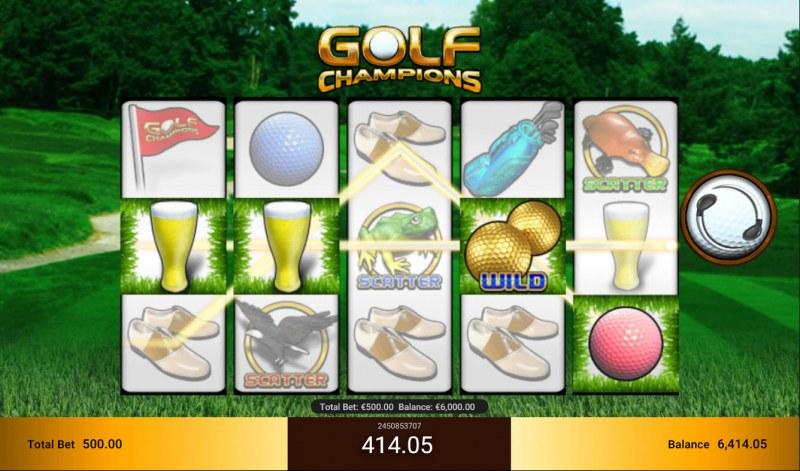 Golf Champions :: Three of a kind