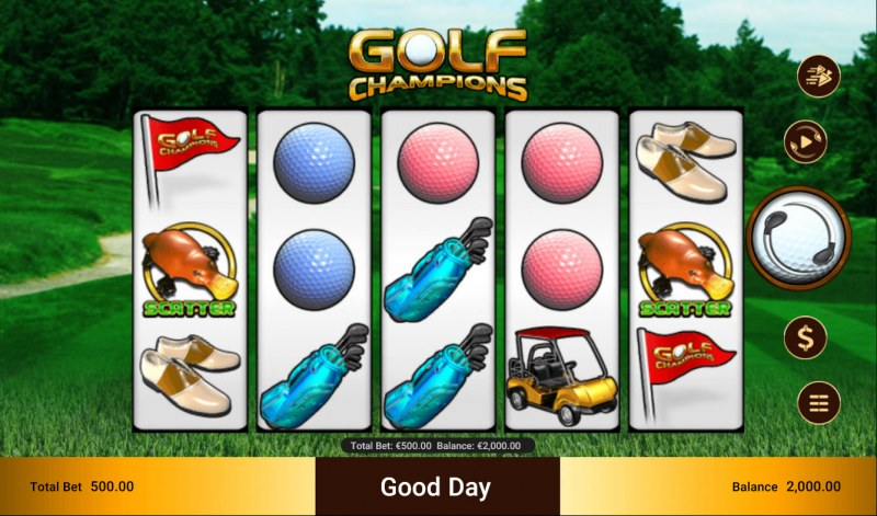 Golf Champions :: Main Game Board