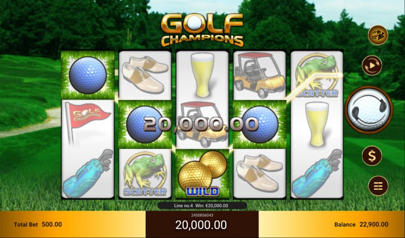 Golf Champions :: Four of a kind