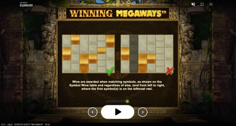 Gonzo's Quest Megaways :: Winning Megaways